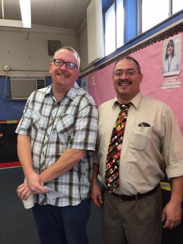 Mr. Augusta and Mr. Martin are facilitating our All Pro Dads' Breakfasts this year!