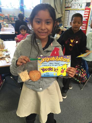 High Frequency Word Celebration treats