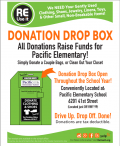 Raise money for our school in two easy steps: 1. Recycle your usable clothing & household items 2. Raise money for our school